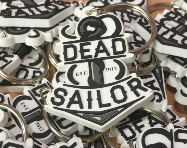 Dead Sailor Anchor Keyring