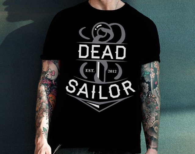 Dead Sailor Anchor T-Shirt