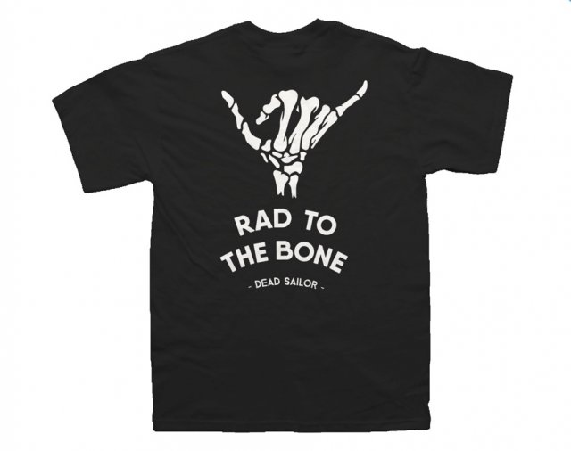 Dead Sailor Rad To The Bone Kids T-Shirt