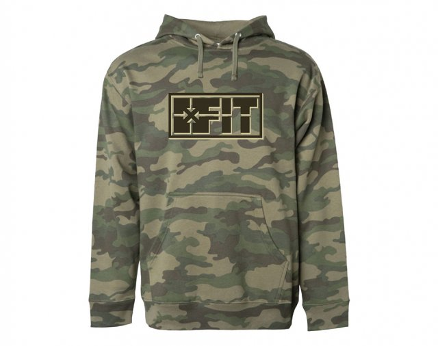 FIT Scope Hoodie - Forest Camo