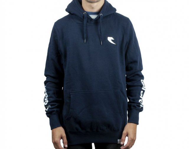 Tall Order Patch / Arm Print Hooded Sweatshirt