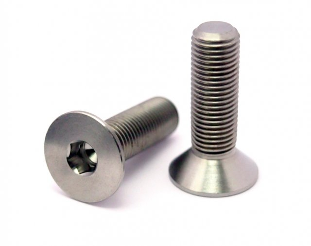 TLC Titanium Crank Spindle Bolt