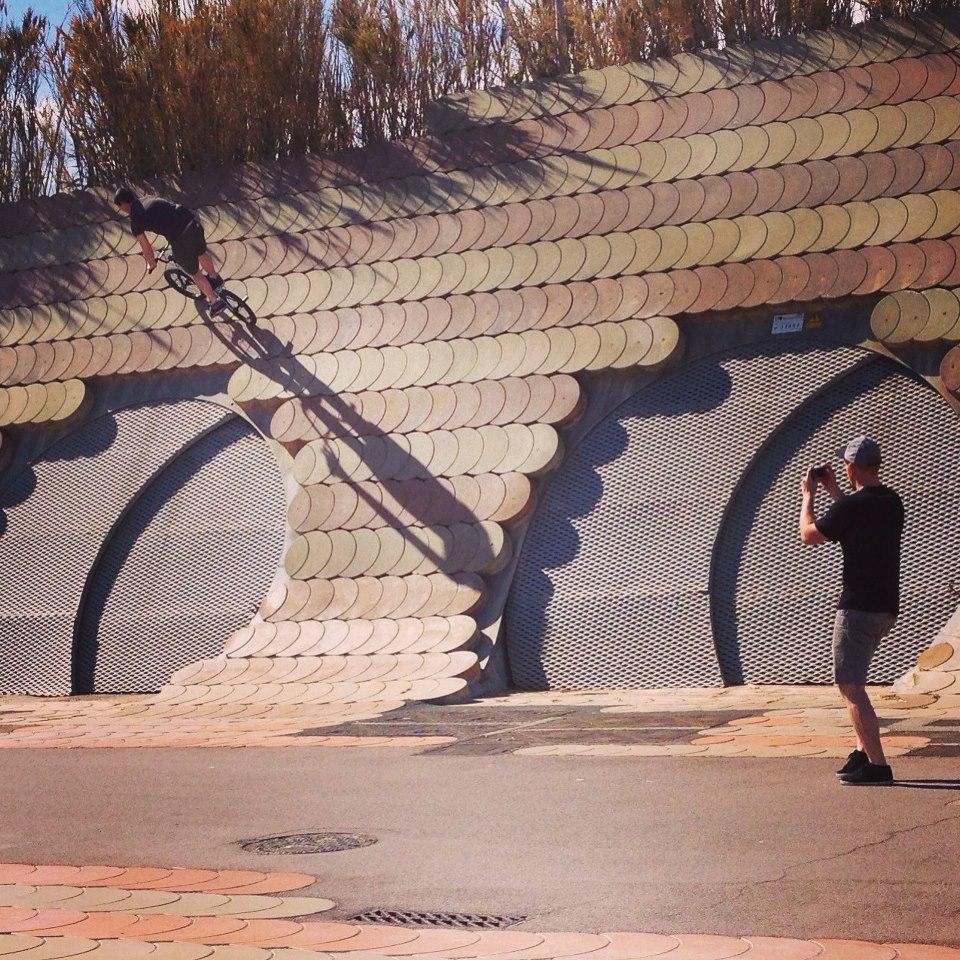 Dead sailor BMX Barcelona Trip