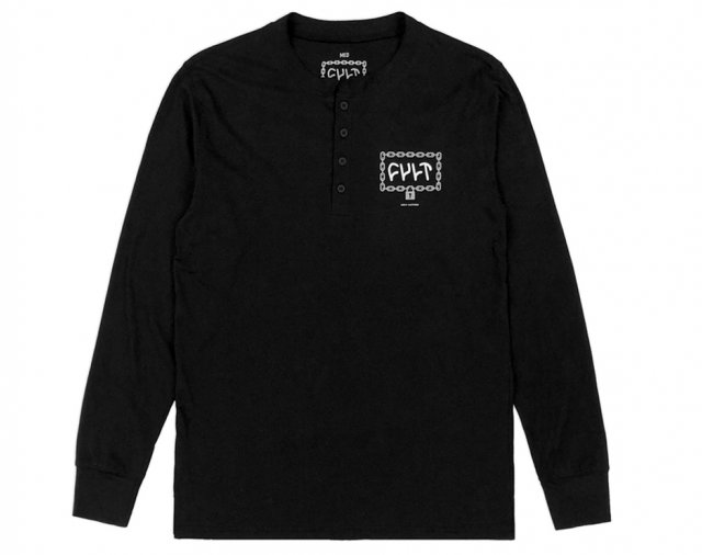 Cult Throw Away The Key Henley Long Sleeve