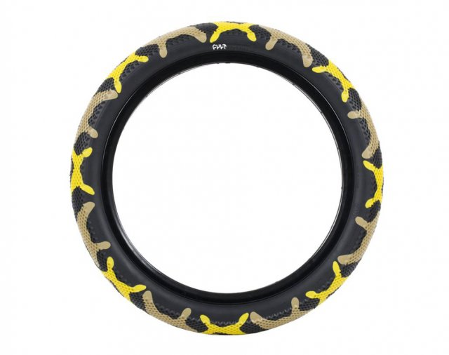 Cult x Vans Yellow Camo Tyre