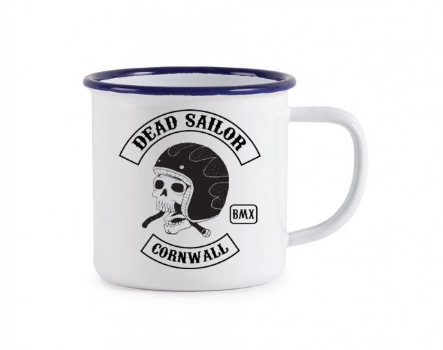Dead Sailor Sons of BMX Enamel Mug