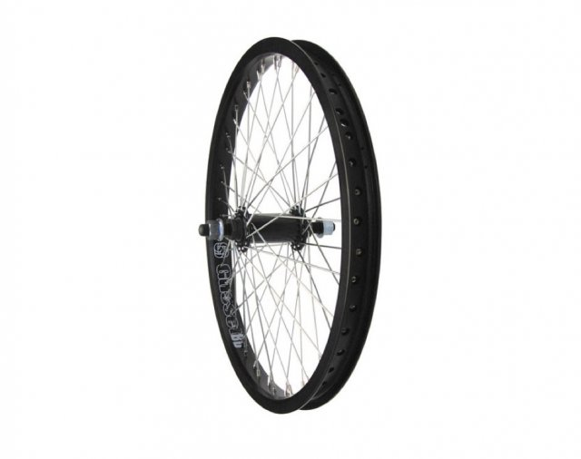 Gusset Black Dog Front Wheel