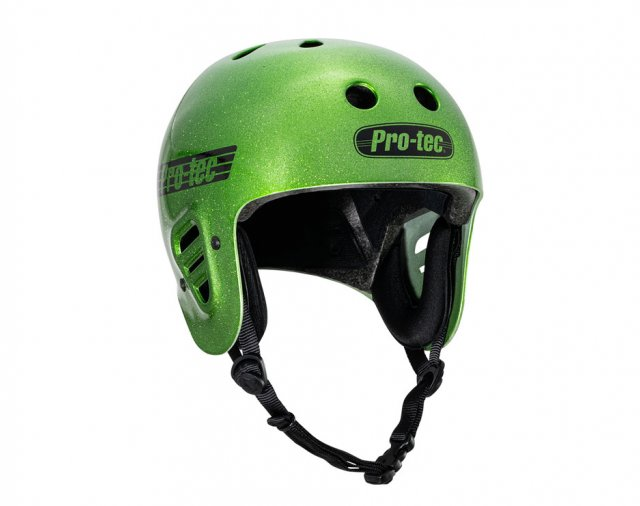Pro-Tec Full Cut Certified Helmet Candy Green Flake