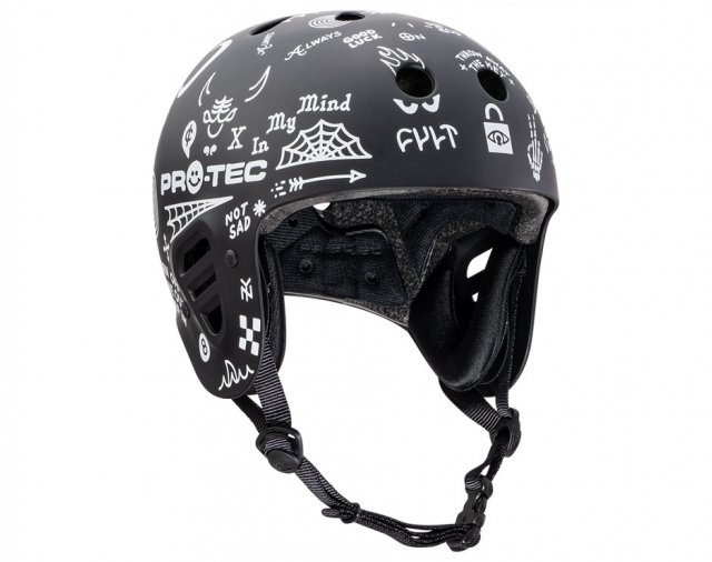 Pro-tec x Cult Collaboration Full Cut Helmet