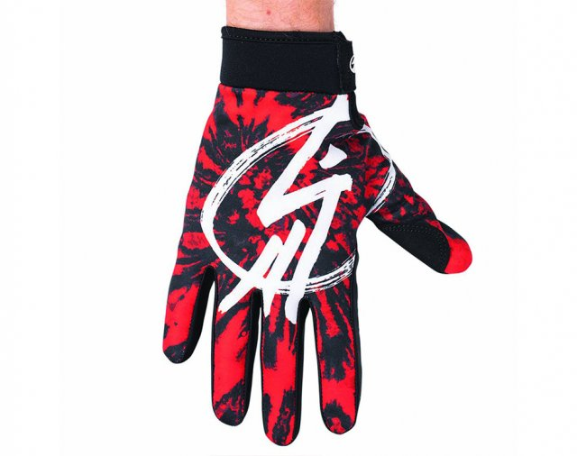 Shadow Jr. Conspire Gloves - Red Tie Dye