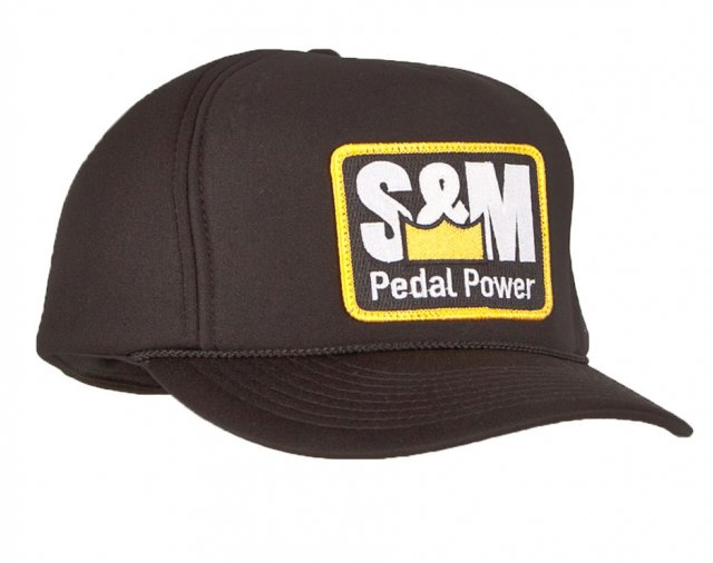 S&M Pedal Power All Foam Winter Trucker Hat