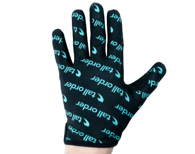 Tall Order Barspin Glove Teal Print
