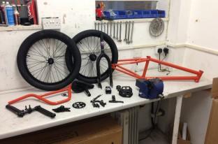Fly bikes custom montana build