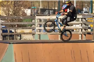 Getting Awesome With Ryan Nyquist & Baby BMXer Nyquist: